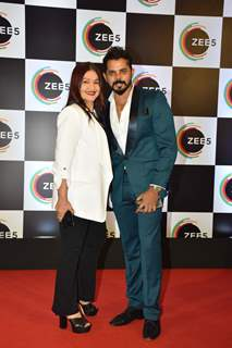Pooja Bhatt and Sreeshant snapped at Zee5 Event