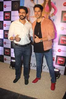 Rajneesh Duggal and Hiten Tejwani snapped at a Music Launch
