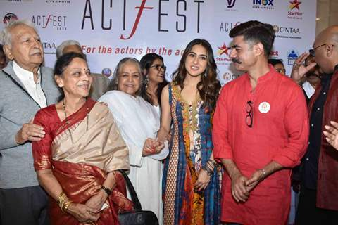 Celebrities snapped at CINTAA Act Fest