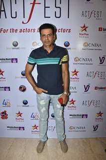 Manoj Bajpayee snapped at CINTAA Act Fest