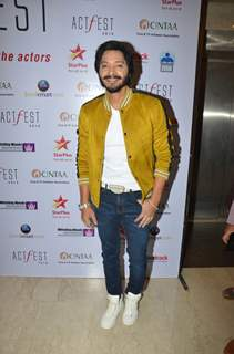 Shreyas Talpade snapped at CINTAA Act Fest