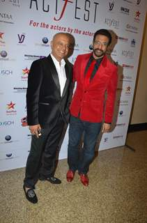 Javed and Naved Jaffery snapped at CINTAA Act Fest