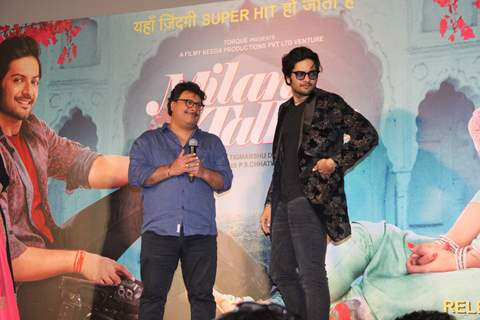 Ali and Tigmanshu snapped at Milan Talkies Trailer Launch