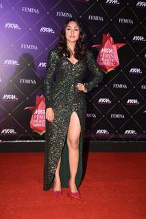 Mrunal Thakur at Nykaa Femina Beauty Awards 2019