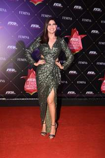 Aahana Kumra at Nykaa Femina Beauty Awards 2019