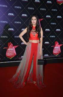 Chahatt Khanna at Nykaa Femina Beauty Awards 2019