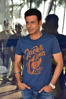 Manoj Bajpayee snapped at Sonchiriya Promotions