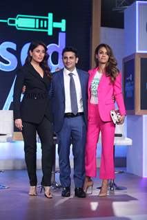 Kareena Kapoor Khan and Natasha Poonawalla at Swasth Immunised India Campaign