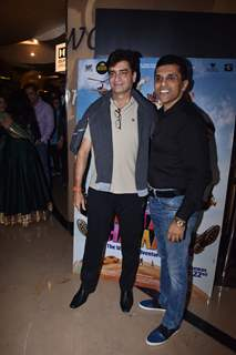 Bollywood filmmaker Indra Kumar at the screening of Total Dhamaal