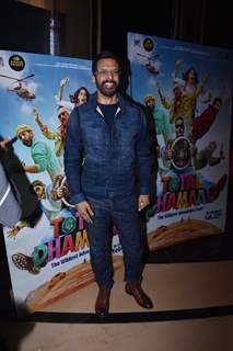 Bollywood actor Javed Jaffrey at the screening of Total Dhamaal