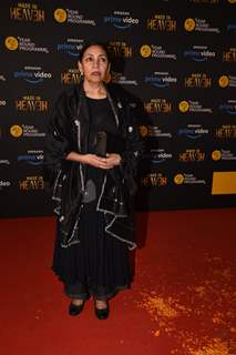 Deepti Naval at the screening of 'Made in Heaven'!