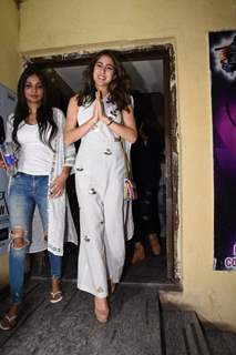 Sara Ali Khan at Sonchiriya special screening