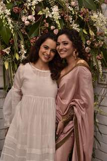 Kangana and Ankita at Manikarnika Success bash!