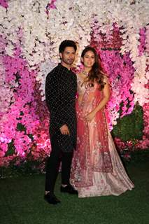 Shahid Kapoor and Mira Rajput Kapoor at Ambani Wedding!