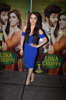 Radhika Madan at the Luka Chuppi success bash!