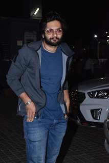 Ali Fazal at the Special screening of upcoming films!
