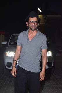 Sunil Grover at the Special screening of upcoming films!
