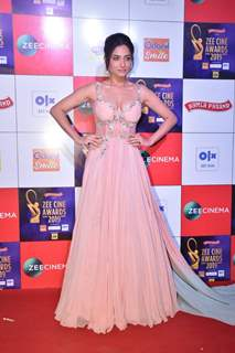 Ankita Lokhande snapped at Zee Cine Awards!