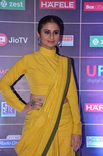 Rasika Duggal graces the REEL Awards with her appearance!