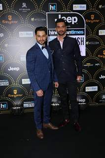 Kunal Khemu and Angad Bedi at India's Most Stylish Awards!