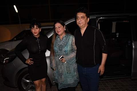 Sajid Nadiadwala attends the special screening of Kalank