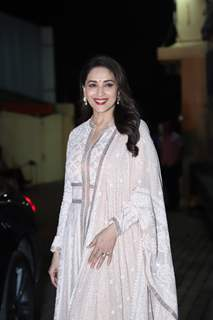 The gorgeous Madhuri Dixit at the special screening of Kalank