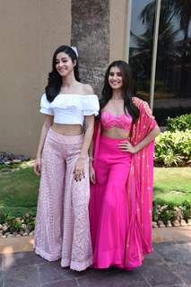 Bollywood divas Tara and Ananya have fun on the song launch of SOTY 2!