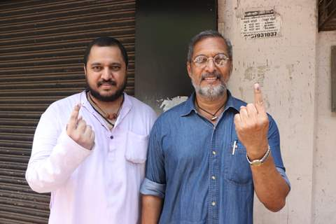 Bollywood celebrities cast their Vote!