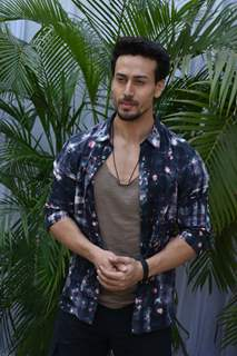 Tiger Shroff at the promotions of Student of the Year 2