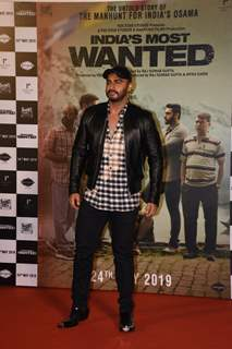 Arjun Kapoor at the trailer launch of India's Most Wanted