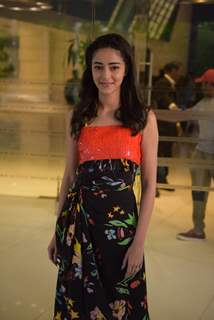 Ananya Pandey at the promotions of SOTY 2
