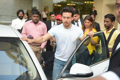 Tiger Shroff at the promotions of SOTY 2