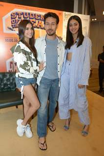 Tara Sutaria, Tiger Shroff, and Ananya Panday at the Press Conference of SOTY 2