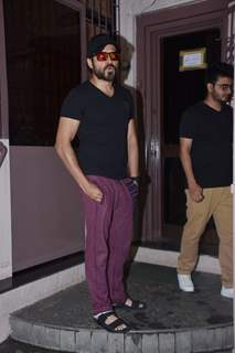 Emraan Hashmi snapped around Mumbai