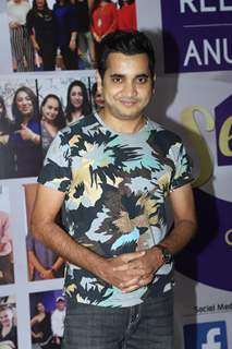 Saanand Verma snapped at the launch of Reel or Real season 3