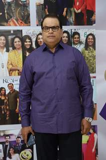 Ramesh Taurani snapped at the launch of Reel or Real season 3