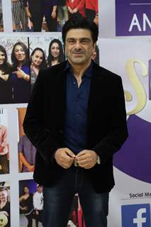 Samir Soni snapped at the launch of Reel or Real season 3