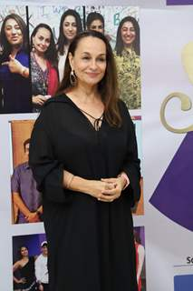 Soni Razdan snapped at the launch of Reel or Real season 3