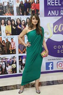 Urvashi Dholakia snapped at the launch of Reel or Real season 3