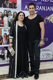 Sudhanshu Pandey snapped at the launch of Reel or Real season 3
