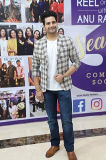 Karan Mehra snapped at the launch of Reel or Real season 3