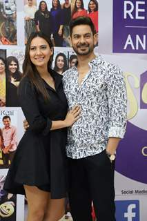Keith Sequeira and Rochelle Rao snapped at the launch of Reel or Real season 3