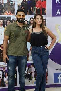Preeti Jhangiani and Parvin Dabas snapped at the launch of Reel or Real season 3