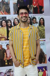 Amol Parashar snapped at the launch of Reel or Real season 3