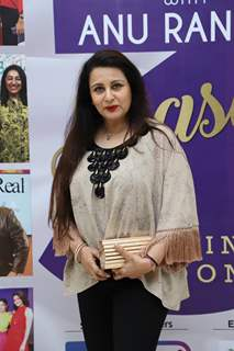Poonam Dhillon snapped at the launch of Reel or Real season 3