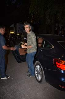 Imtiaz Ali snapped after the wrap up of day's schedule for Love Aaj Kal 2!