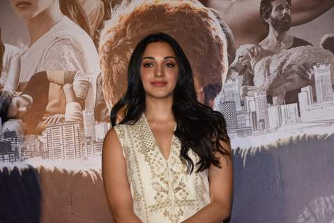 Kiara Advani snapped at the promotions of Kabir Singh