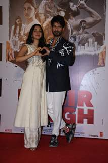 Shahid Kapoor an Kiara Advani  snapped at the promotions of Kabir Singh