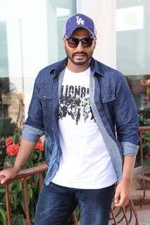 Arjun Kapoor snapped at the promotions of India's Most Wanted!