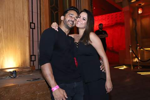 Anita Hassanandani and Rohit Reddy Snapped at their song launch